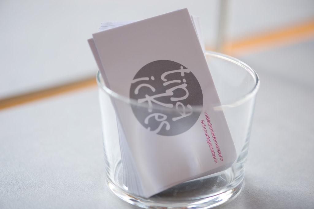 Tina Ickes Visitenkarten